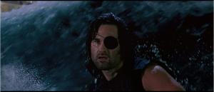 Snake Plissken - never had a problem he couldn't surf his way out of.