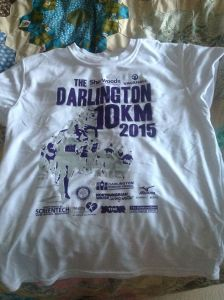 Tell them you've been to Darlington by wearing the t-shirt