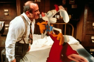 Foldy-downy filing cabinet bed. And Bob Hoskins. And Roger Rabbit.